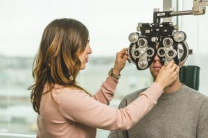 Eye exam to prevent glaucoma
